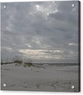 Pensacola Beach After Storm  Acrylic Print