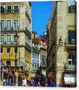 Pensao Geres - Lisbon 2 Acrylic Print