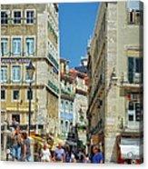 Pensao Geres - Lisbon Acrylic Print