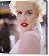 Beauty Of Marilyn Monroe Acrylic Print