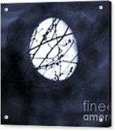 Pentacle Moon Acrylic Print