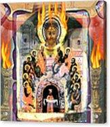 Pentecost 2009 Acrylic Print by Glenn Bautista