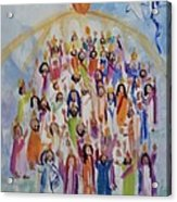 Pentecost Acrylic Print