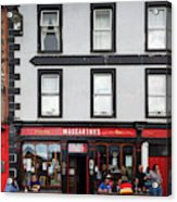 People At A Restaurant, Mccarthys Bar Acrylic Print
