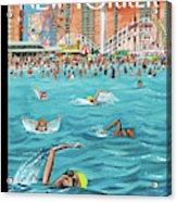 Coney Island Acrylic Print