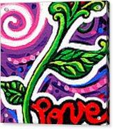 Pepe Le Pew Loves Le Chat Acrylic Print