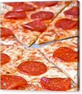 Pepperoni Pizza Acrylic Print