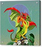 Peppers Dragon Acrylic Print