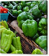 Peppers From The Farm Nj Acrylic Print