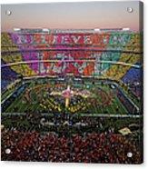 Pepsi Super Bowl 50 Halftime Show Acrylic Print