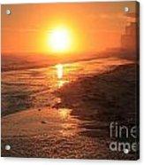 Perdido Key Sunburst Acrylic Print
