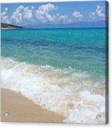 Perfect Beach Acrylic Print