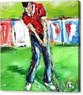 Ideal Gift For Golfing Husband Acrylic Print