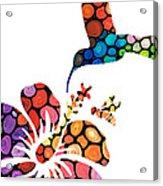 Perfect Harmony - Nature's Sharing Art Acrylic Print