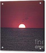 Perfect Sunrise Acrylic Print by Nelson Watkins