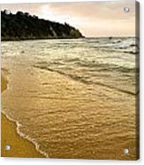Perfect Sunset Beach Acrylic Print