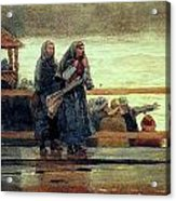 Perils Of The Sea 1881 Acrylic Print