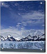 Perito Moreno Glacier And The Andes Acrylic Print