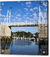 Perkins Cove - Maine Acrylic Print