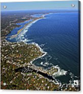 Perkins Cove, Ogunquit Beach, Ogunquit Acrylic Print