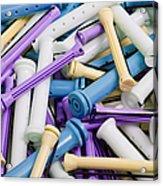 Perm Rods 5 Acrylic Print