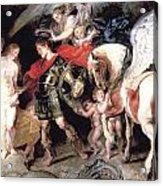 Perseus Liberating Andromeda Acrylic Print