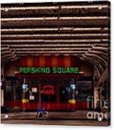 Pershing Square Cafe Acrylic Print