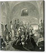 Persian Mosque At Yerevan, Armenia Acrylic Print