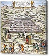 Peru: Cuzco, 1572 Acrylic Print