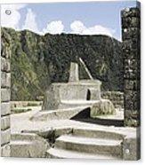 Peru. Cuzco. Machu Picchu. Incaic Acrylic Print