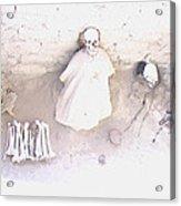 Peru Nazca Bones Two Acrylic Print