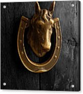 Peruvian Door Decor 5 Acrylic Print