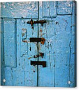 Peruvian Door Decor 8 Acrylic Print