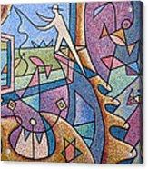 Pescador De Ilusoes  - Fisherman Of Illusions Acrylic Print