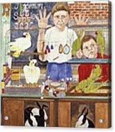 Pet Shop Boys Acrylic Print