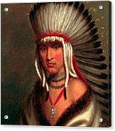 Petalesharro. Generous Chief  Pawnee Acrylic Print