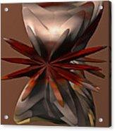 Petals And Stone Acrylic Print