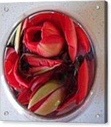 Petals In Vase  Acrylic Print