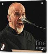 Peter Gabriel Acrylic Print