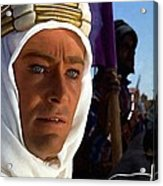 Peter Otoole And Omar Sharif In Lawrence Of Arabia Acrylic Print
