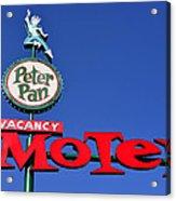 Peter Pan Motel Acrylic Print