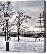 Peterburg Winter Acrylic Print