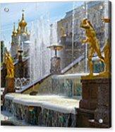 Peterhof Palace Fountains Acrylic Print