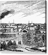 Petersburg, Virginia, 1856 Acrylic Print