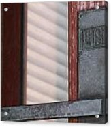 Petersen Paper Revolving Door. Acrylic Print