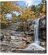 Peterskill Falls Acrylic Print