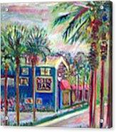 Pete's Bar In Neptune Beach Acrylic Print