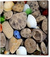 Petoskey Stones V Acrylic Print