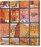 Petra Alive In Petra Jordan Acrylic Print