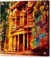 Petra Acrylic Print by Catf